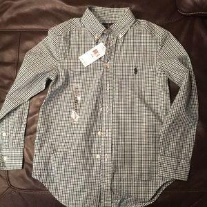 Ralph Lauren polo shirt boys S8